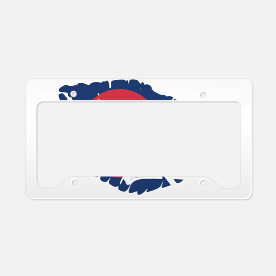 colorado kiss License Plate Holder