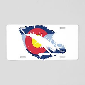 colorado kiss Aluminum License Plate