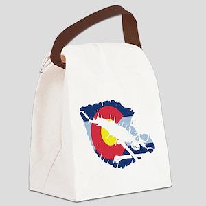 colorado kiss Canvas Lunch Bag