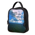 Spirituality, a Belief Neoprene Lunch Bag