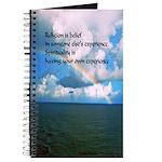 Spirituality, A Belief Journal