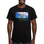Spirituality, a Belief Men's Fitted T-Shirt (dark)