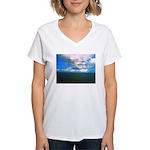 Spirituality, a Belief Women's V-Neck T-Shirt