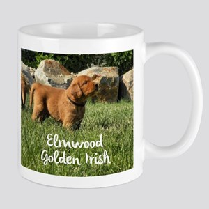 Elmwood Golden Irish Mugs