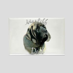 Sheepdog Dad2 Rectangle Magnet