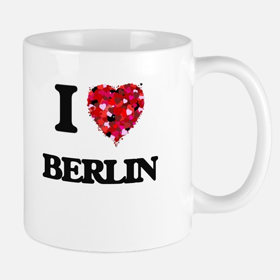 I love Berlin Germany Mugs