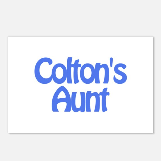 Colton's Aunt Postcards (Package of 8)