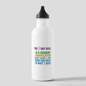 3 Day Rule Water Bottle