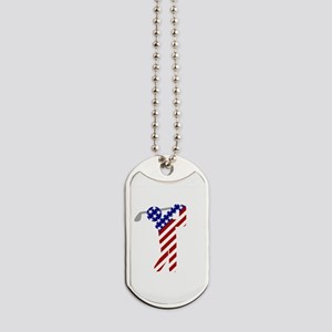 USA Mens Golf Dog Tags
