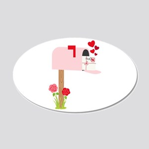 Valentine Mailbox Wall Decal