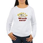 Donald Vlogsifys Wood Shop Long Sleeve T-Shirt