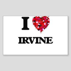 I love Irvine California Sticker
