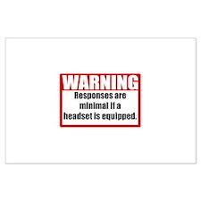 Warning Posters
