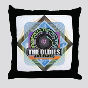 Oldies Forever Throw Pillow
