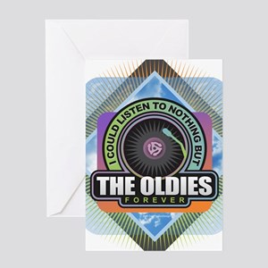 Oldies Forever Greeting Cards