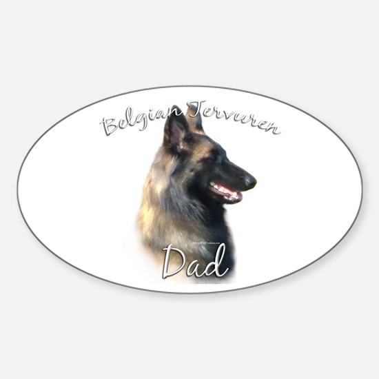 Terv Dad2 Oval Decal
