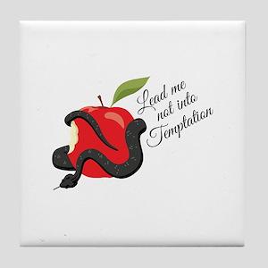 Into Temptation Tile Coaster