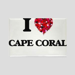 I love Cape Coral Florida Magnets