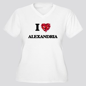 I love Alexandria Virginia Plus Size T-Shirt