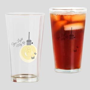 Light My Life Drinking Glass