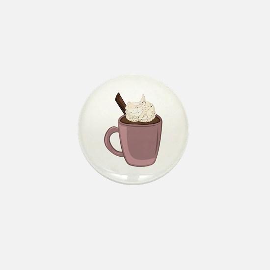 Hot Chocolate Mini Button