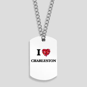 I love Charleston South Carolina Dog Tags