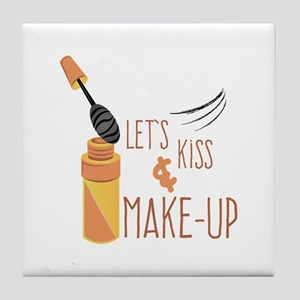 Kiss & Make-Up Tile Coaster