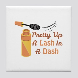Lash In A Dash Tile Coaster