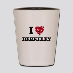 I love Berkeley California Shot Glass