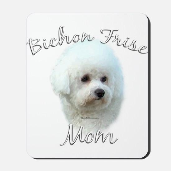 Bichon Mom2 Mousepad