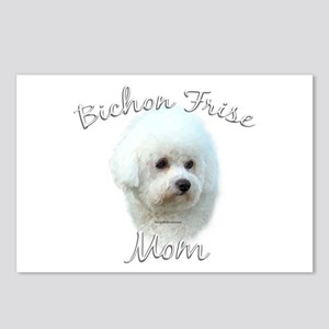 Bichon Mom2 Postcards (Package of 8)