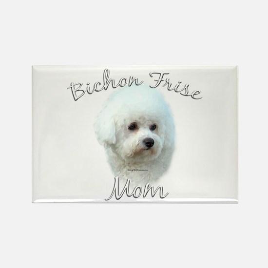 Bichon Mom2 Rectangle Magnet