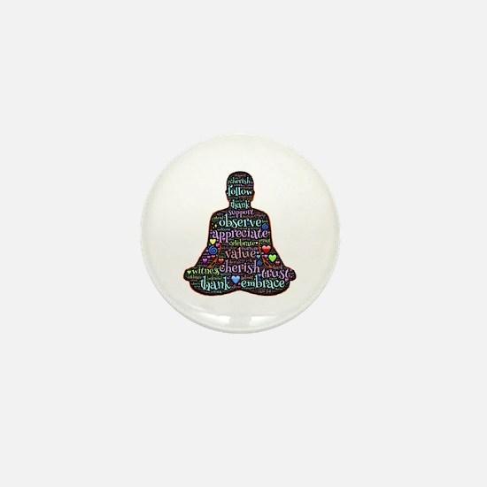 Cool Budda Mini Button