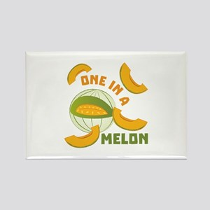 One In A Melon Magnets