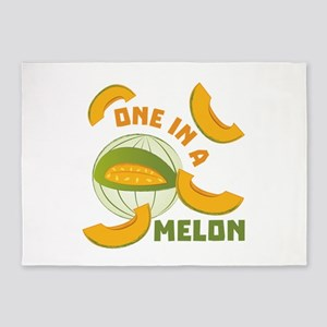 One In A Melon 5'x7'Area Rug