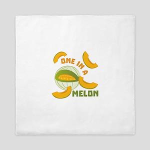 One In A Melon Queen Duvet