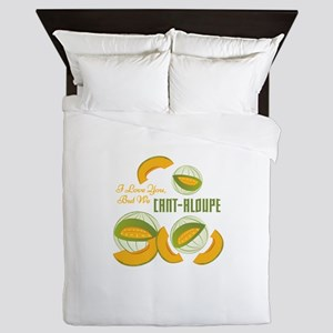 We Cant-aloupe Queen Duvet