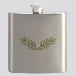 Olive Branches Flask
