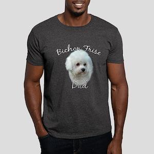 Bichon Dad2 Dark T-Shirt