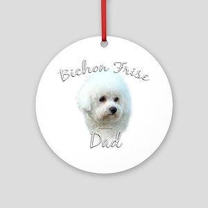 Bichon Dad2 Ornament (Round)