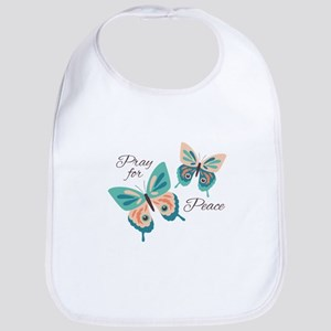 Peace Hope Joy Bib