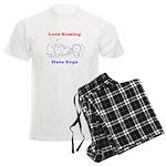 Love Rowing - Hate Ergs pajamas