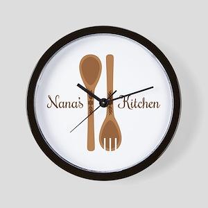Nanas Kitchen Wall Clock