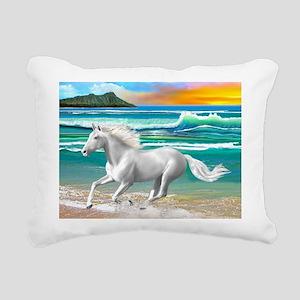 Born Free Rectangular Canvas Pillow
