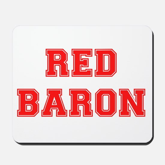 RED BARON! Mousepad