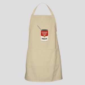 Canned Food Drive Apron