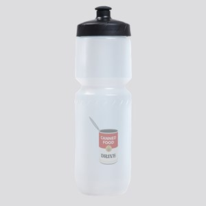 Canned Food Drive Sports Bottle
