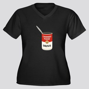 Canned Food Drive Plus Size T-Shirt