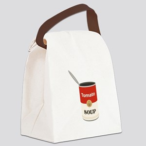 Tomato Soup Canvas Lunch Bag