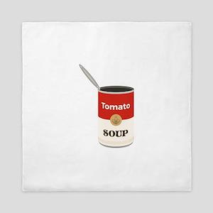 Tomato Soup Queen Duvet